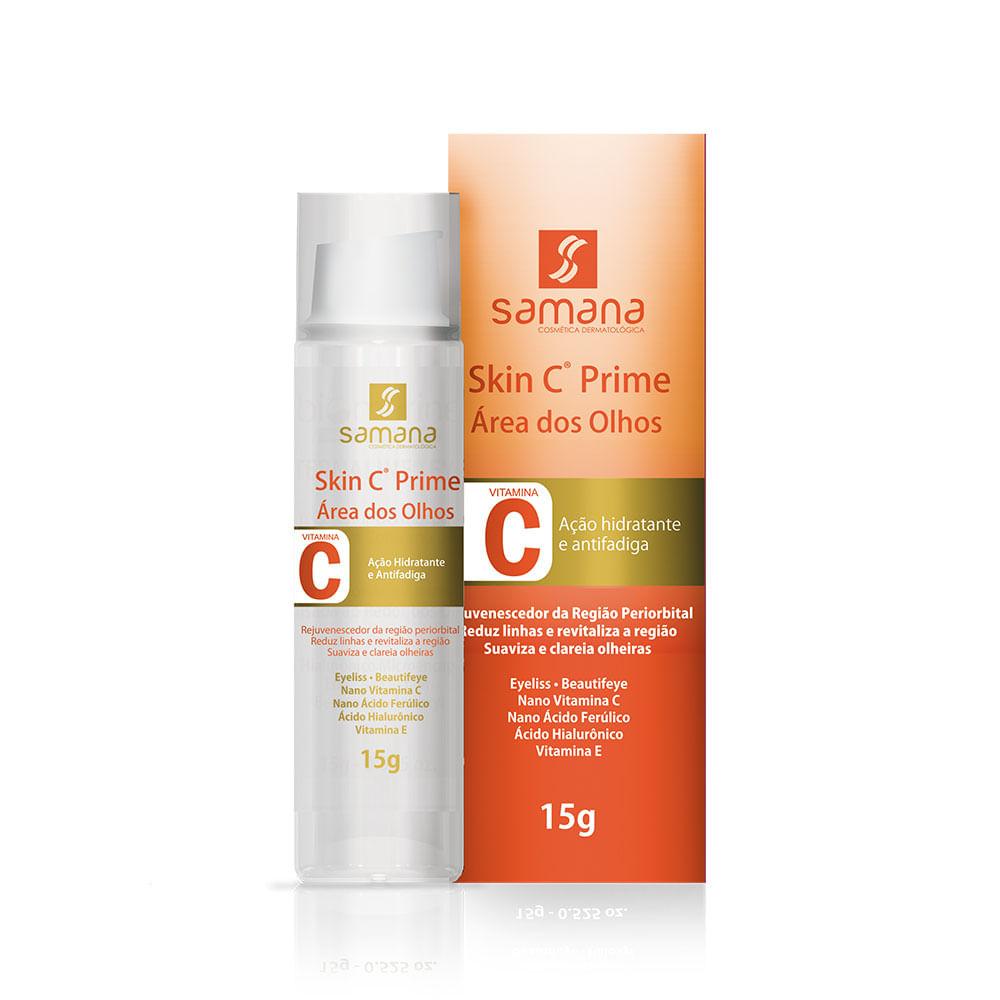 Samana-Serum-para-Area-dos-Olhos-com-Vitamina-C-Skin-C-Prime-15g