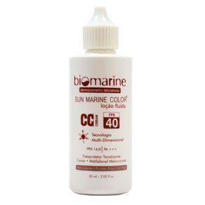 Biomarine-Protetor-e-Tratamento-Facial-Sun-Marine-CC-Cream-FPS-40-Bege-60g