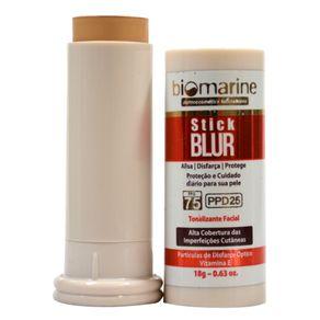 Biomarine-Base-Bastao-com-Protetor-Solar-Stick-Blur-FPS-75-PPD-25-Natural-18g
