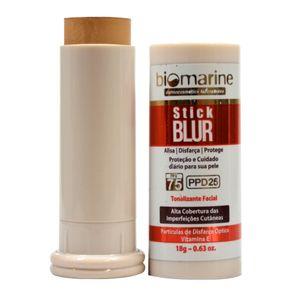 Biomarine-Base-Bastao-com-Protetor-Solar-Stick-Blur-FPS-75-PPD-25-Bronze-18g