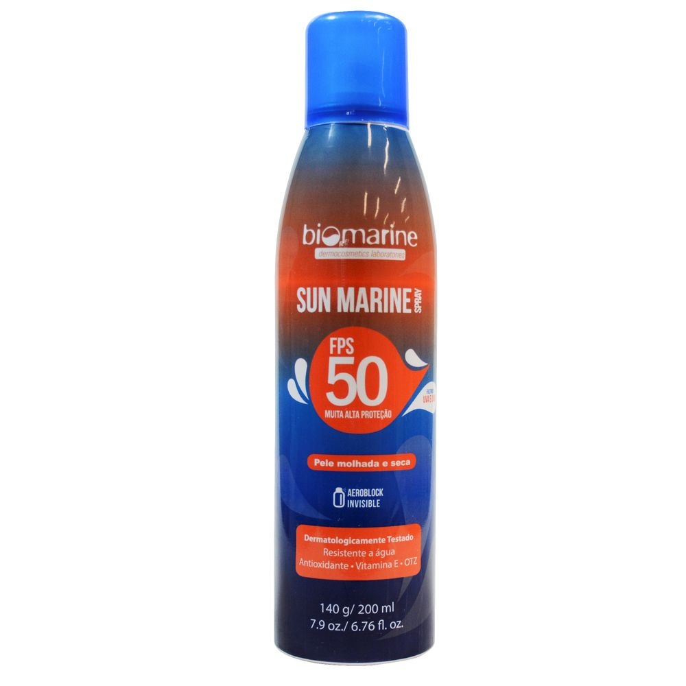 Biomarine-Protetor-Solar-Sun-Marine-FPS-50-Aerosol-140ml